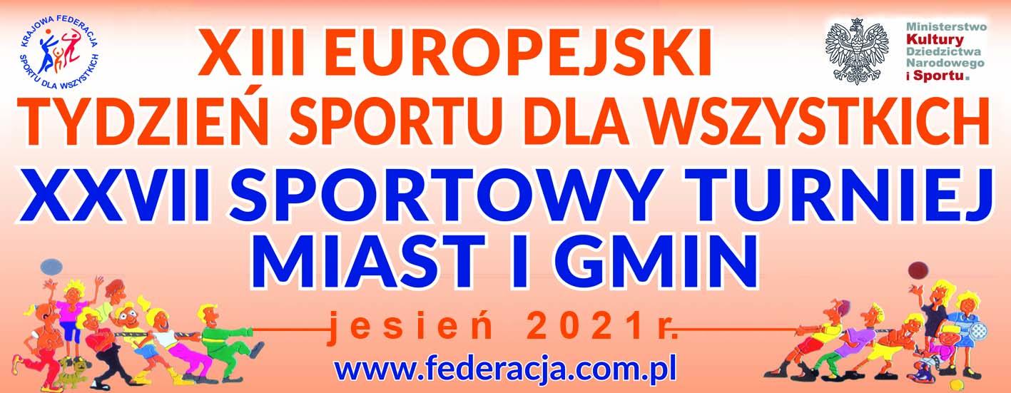 XIII Europejski Tydzień Sportu dla Wszystkich